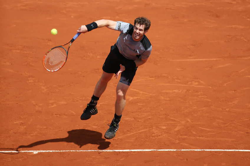 what channel is Andy Murray v Wawrinka on?