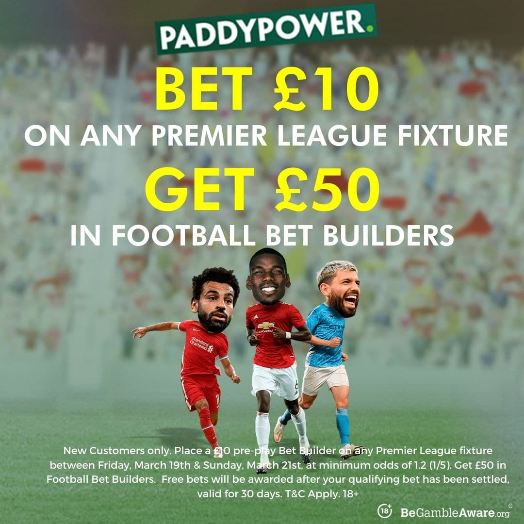 paddy power bet builder offer